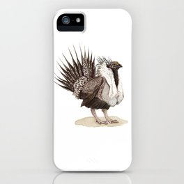 Greater Sage-Grouse iPhone Case