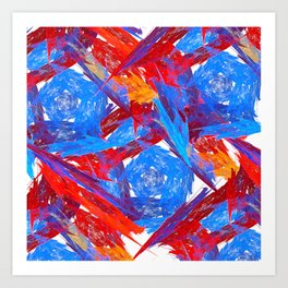 Original Abstract Duvet Covers by Mackin & MORE Art Print