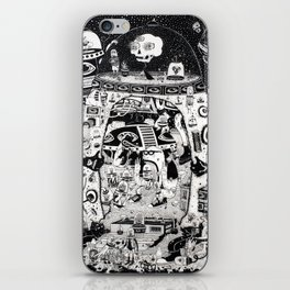 contacto real iPhone Skin