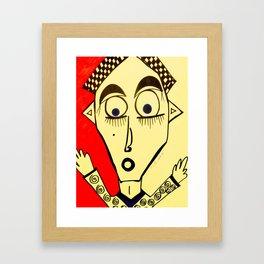 oh my gosh Framed Art Print