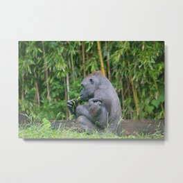 Motherhood Metal Print