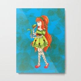 Lil' Ivy Metal Print