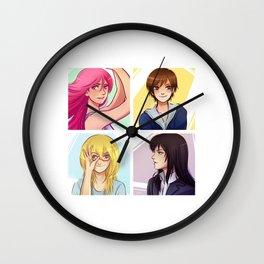 KNB Ladies Wall Clock