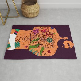 The artist - natural Rug