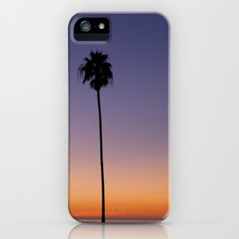 Autumn in La Jolla iPhone Case