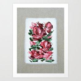 Claret Art Print