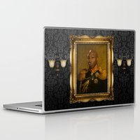 replaceface Laptop & iPad Skins featuring Michael Clarke Duncan - replaceface by replaceface