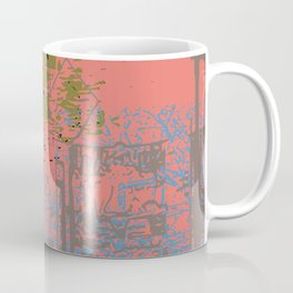 As I walk through the valley of the shadow of death Coffee Mug