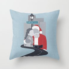 34th Street Miracle Throw Pillow