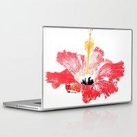 hibiscus Laptop & iPad Skins featuring Hibiscus by Regan's World
