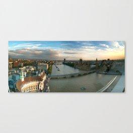London by Eye Canvas Print