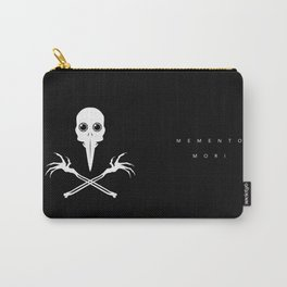 """""""Memento Mori"""", Remember to Die Carry-All Pouch"""