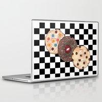 cookies Laptop & iPad Skins featuring Eat Cookies by Sartoris ART