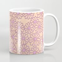 daisies Mugs featuring daisies by clemm