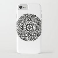 calendar iPhone & iPod Cases featuring Aztec Calendar by Jack Soler