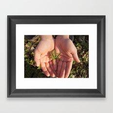 Precious Framed Art Print