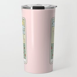 COFFEE READING UPDATED (LIGHT) Travel Mug