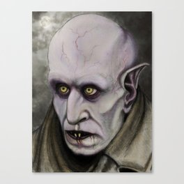 Orlok the Loathsome Canvas Print