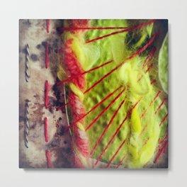 Artist Shuffle Texture Metal Print