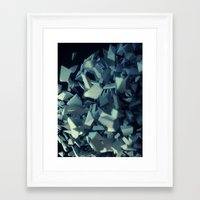 fault Framed Art Prints featuring Fault by MRfrukta