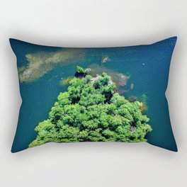 Archipelago Island - Aerial Photography Rectangular Pillow