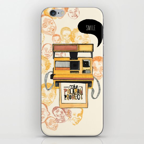 The Polaroad Project iPhone Skin