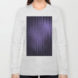 Random weird looking unclear, bright and shaky dark slate gray, dark slateblue and light slate gray Long Sleeve T-shirt