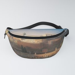 The Acropolis of Athens, Greece by Leo von Klenze Fanny Pack