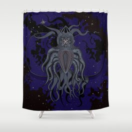 Etheric Shower Curtain