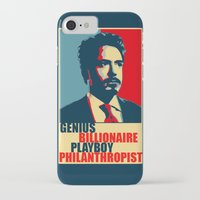 robert downey jr iPhone & iPod Cases featuring Robert Downey Jr - The Legend by Mental Activity