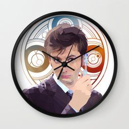 The 10th Doctor Wall Clock
