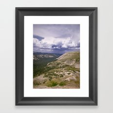 Getting lost Framed Art Print