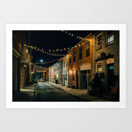 Chapel Street Strings 02 Art Print