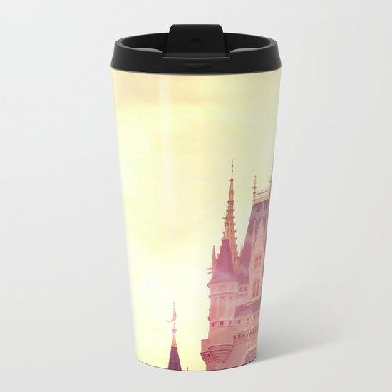 Disney Cinderella Castle Metal Travel Mug
