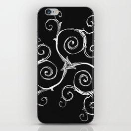 Magic Mandala Twisted Triskele iPhone Skin