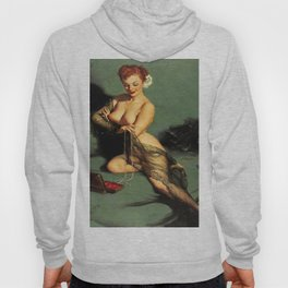 Fascination Gil Elvgren Pin Up Girl Hoody