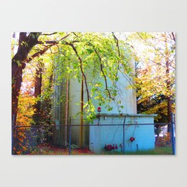 Toxic Nature Canvas Print