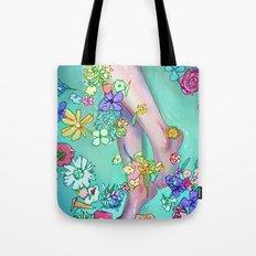 Flower Bath 2 Tote Bag