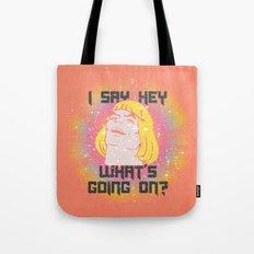HEY MAN Tote Bag
