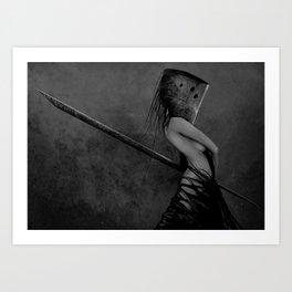 Knife in the Dark Art Print