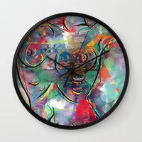 body Wall Clocks featuring body by mark ashkenazi
