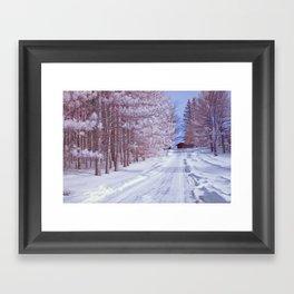 BABY IT'S COLD OUTSIDE II Framed Art Print