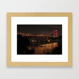 Back to Home via Bosphorus Framed Art Print