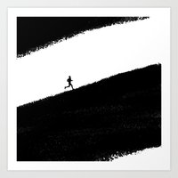 running Art Prints featuring Running by eARTh