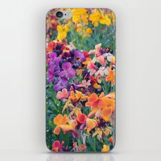 COLOUR POP // SPRING FLOWERS  iPhone & iPod Skin