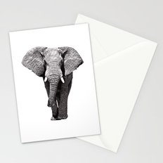 African Elephant 2 Stationery Cards