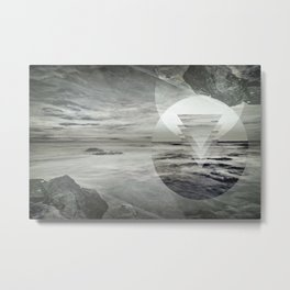 Inception Landscape Metal Print