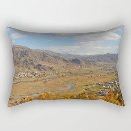 autumn Altai Mountains Rectangular Pillow