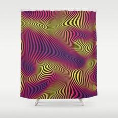 DISTORTION HOT Shower Curtain