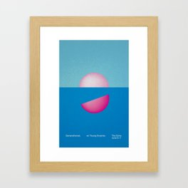 Live @ The Echo Framed Art Print
